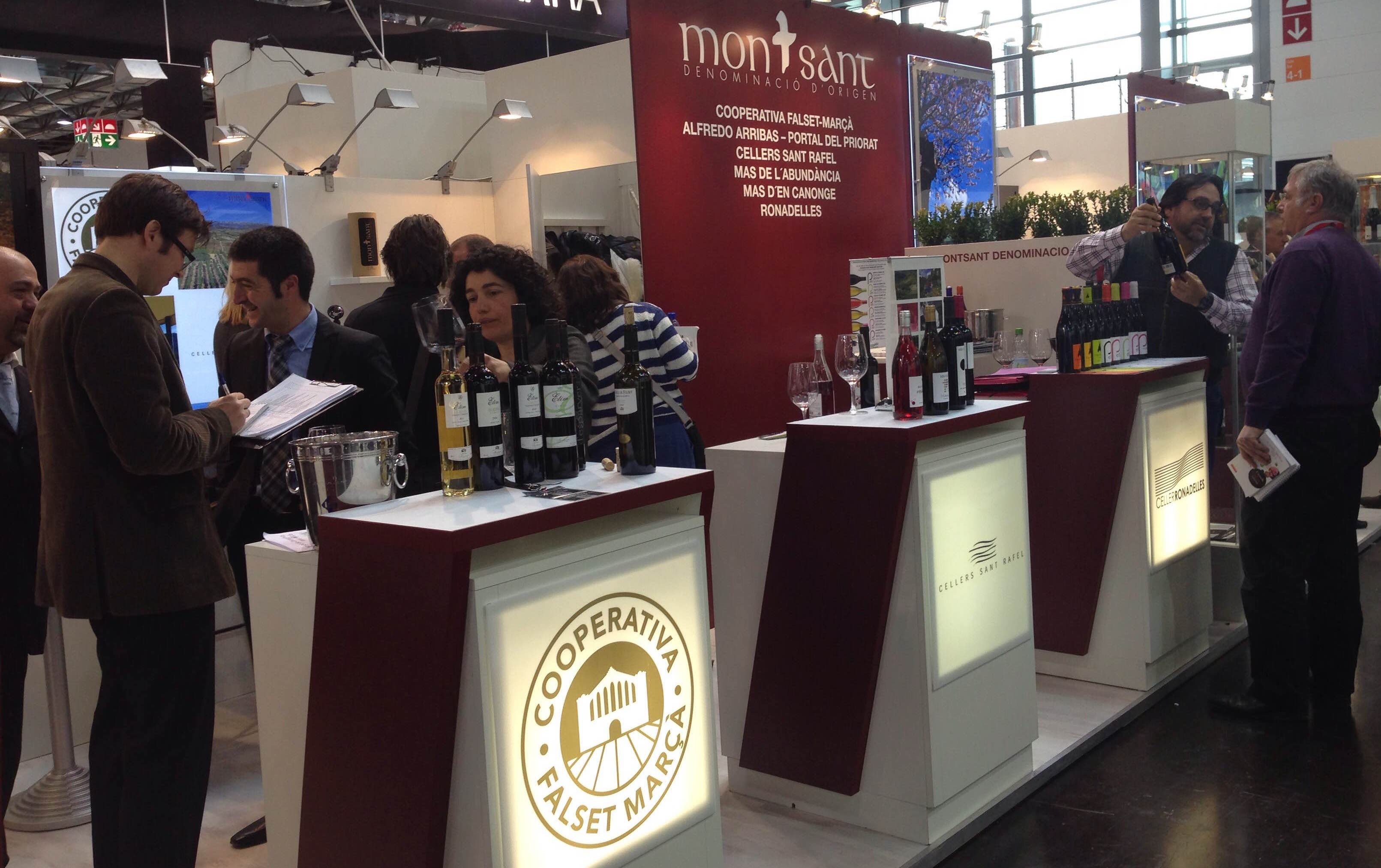 La DO Montsant presente en Prowein 2015