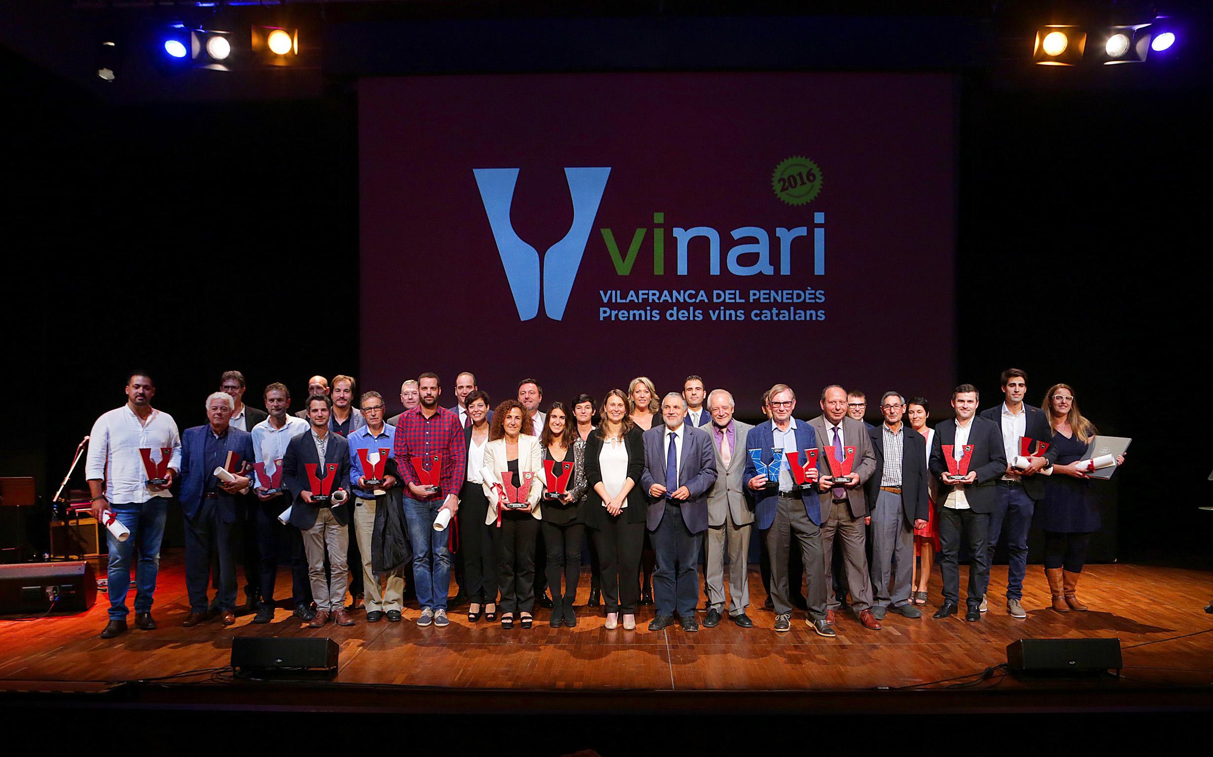 7 vinos de Montsant y Josep Maria Cots distinguidos en los Vinari