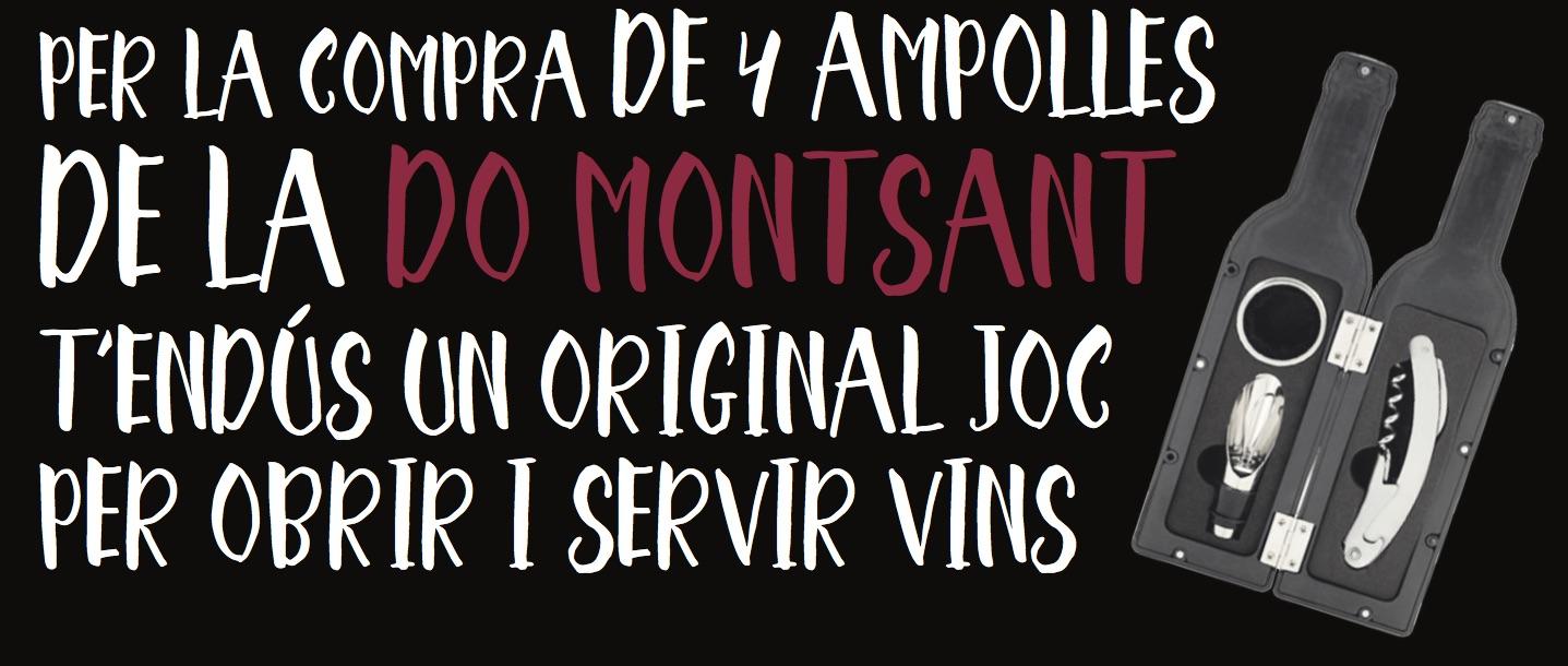 Obsequi Montsant per la Fira del Vi